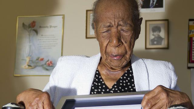 Oudste mens ter wereld viert 116e verjaardag