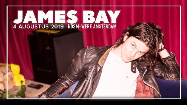 James Bay op 4 augustus, tickets voor 44 euro inclusief Bol.com-cadeaukaart