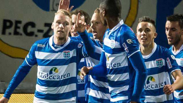 Scorende Nijland baalt van rol als invaller bij PEC Zwolle