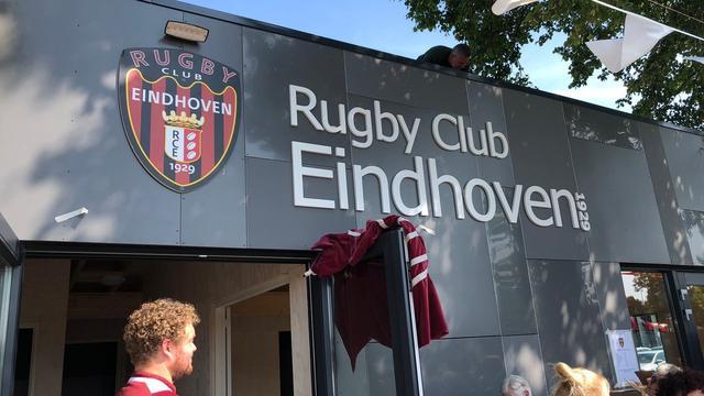 Nieuwe clubhuis voor Eindhovense rugbyclub
