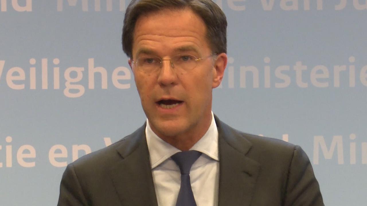 Rutte: 'Verkiezingen gaan door ondanks aanslag'