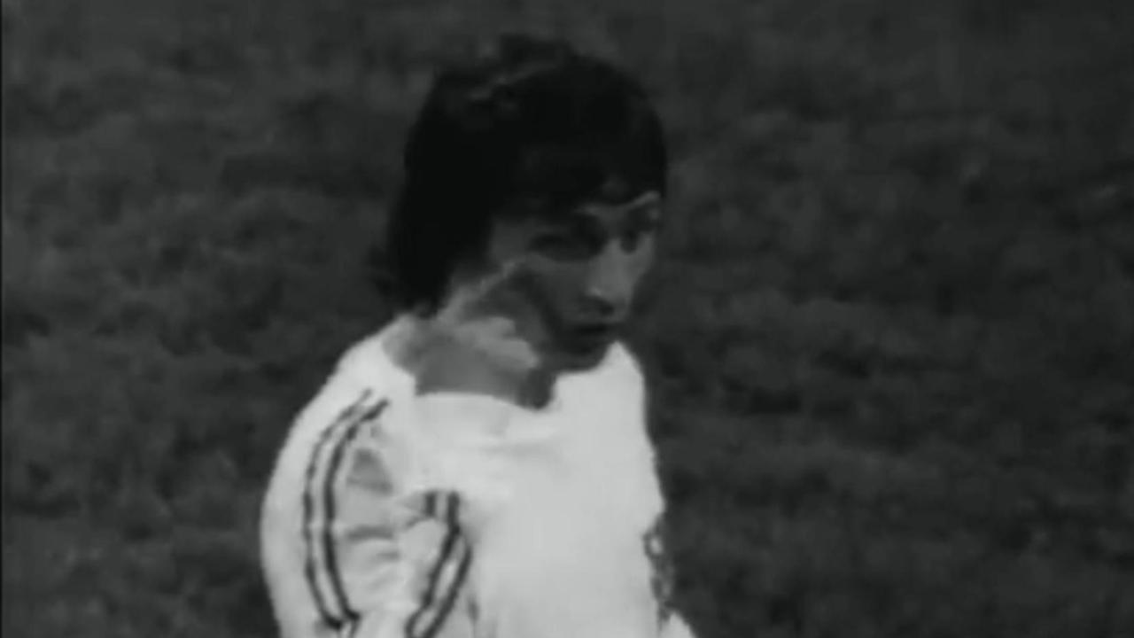 Carrière Cruijff tot en met de WK-finale 1974