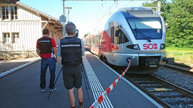Dader en slachtoffer overleden na aanval in Zwitserse trein