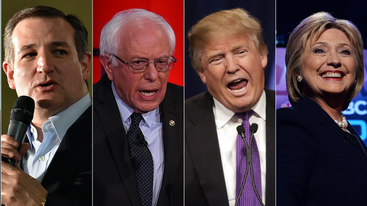 De Amerikaanse presidentskandidaten in 5 standpunten