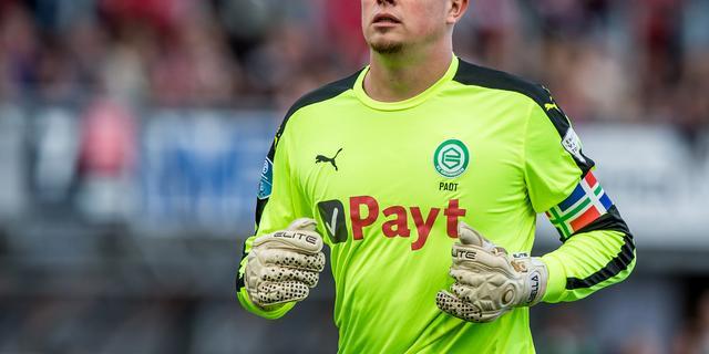 FC Groningen-doelman Padt levert aanvoerdersband in na wangedrag