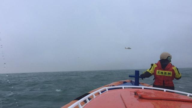 Marine zoekt met sonar naar vermiste piloot