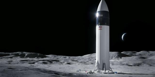 NASA laat SpaceX lander bouwen voor eerste maanmissie sinds jaren zeventig