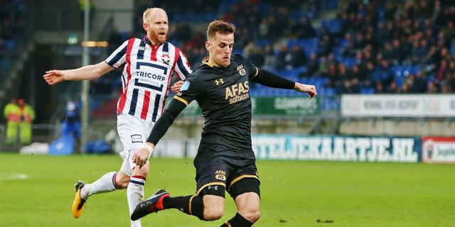 Liveblog Eredivisie: AZ boekt in Tilburg zege op Willem II (gesloten)