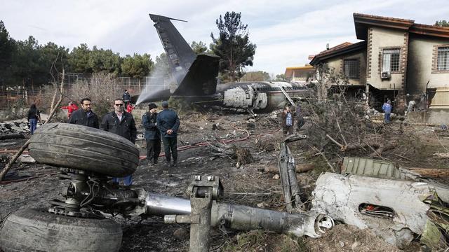 Vrachtvliegtuig neergestort in Iran, vijftien bemanningsleden omgekomen