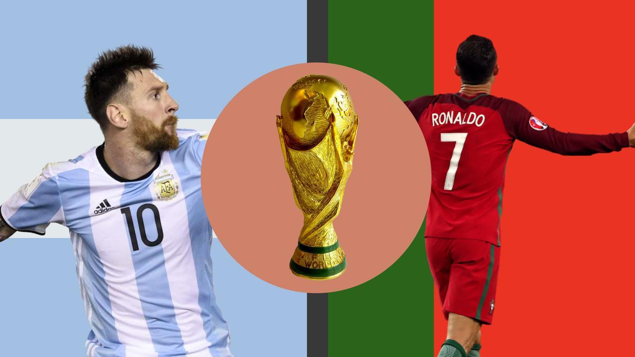 Messi vs. Ronaldo: wie is beter op WK's?
