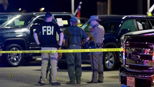 Vijf doden en ruim twintig gewonden bij schietpartij in Texas
