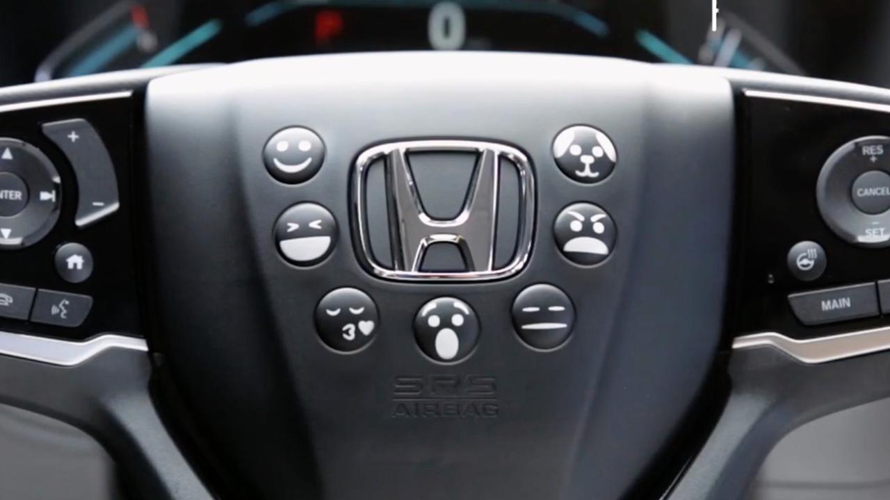 Honda komt met toeter-emoji op 1 april