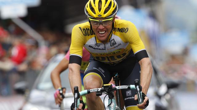 Kruijswijk denkt opnieuw in top tien te kunnen eindigen in Giro d'Italia