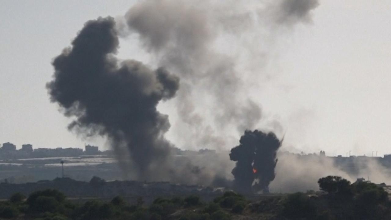 Enkele honderden raketten afgeschoten richting Israël