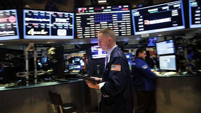 Wall Street in de plus door winst Deutsche Bank