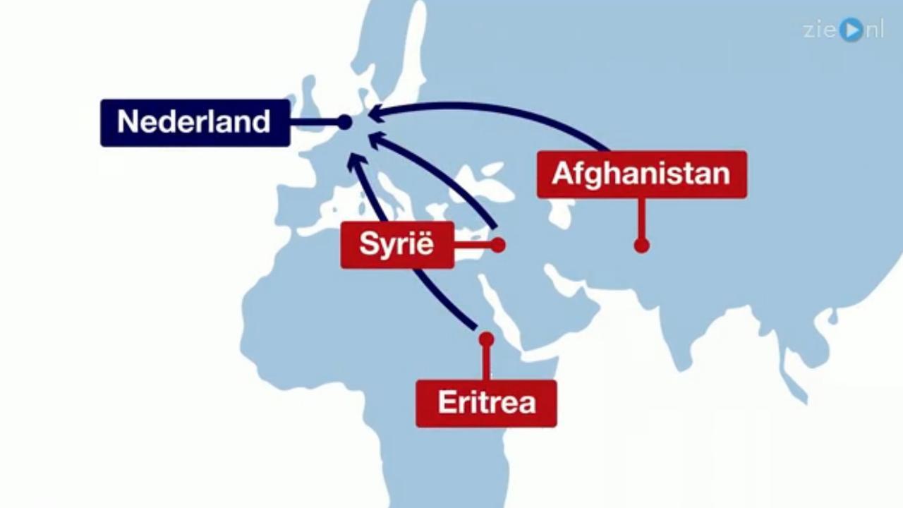In 60 seconden: De asielprocedure in Nederland