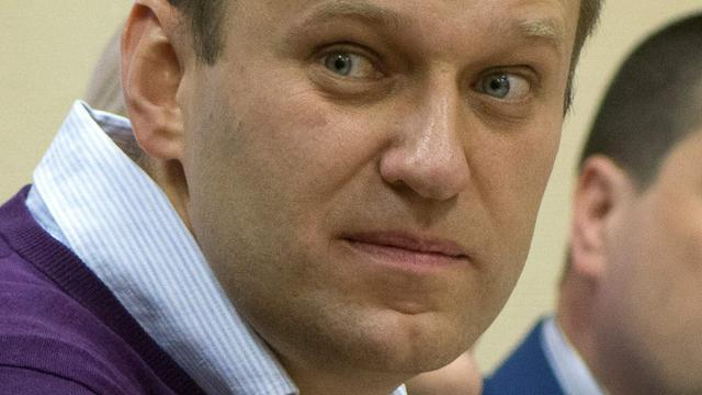 Russische oppositieleider Navalny bijna blind aan een oog