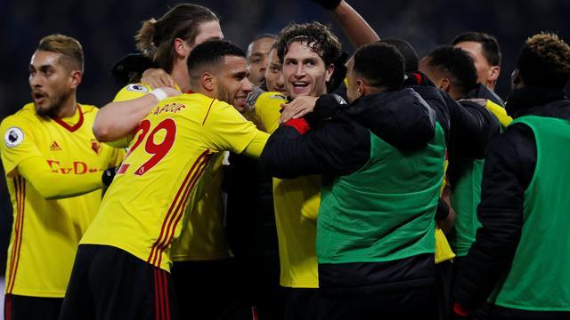 Scorende Janmaat helpt Watford aan zege op Chelsea, nederlaag De Vrij