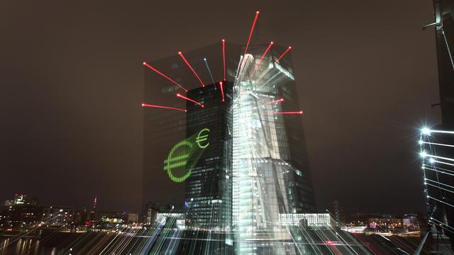ECB verhoogt groeiverwachting voor dit jaar