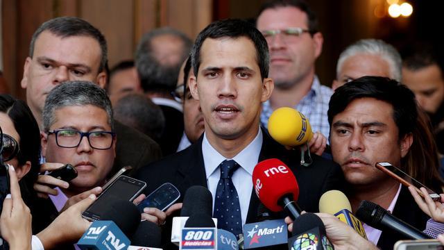 Interim-president Venezuela ontmoet vicepresident VS maandag in Bogota