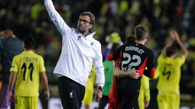 Klopp maakt zich niet druk ondanks nipt verlies met Liverpool