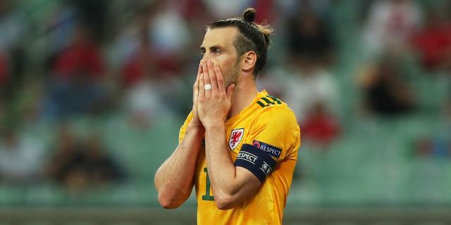 Uitblinker Bale excuseert zich met grapje voor gemiste penalty bij Wales