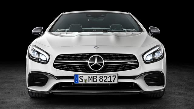Vernieuwde Mercedes SL gelekt