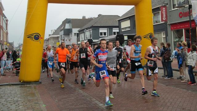 Nationale toppers aan starte Run Bike Run Hoogerheide