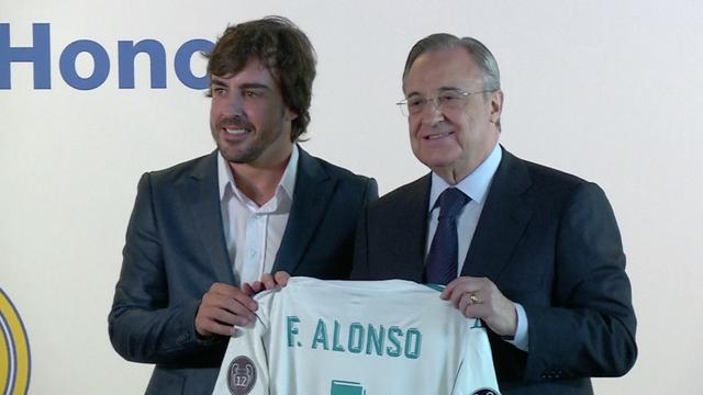Fernando Alonso officieel benoemd tot erelid Real Madrid