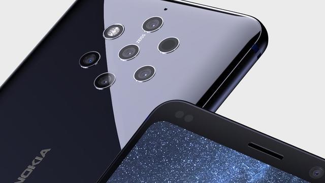 Gelekte video Nokia 9 toont vijf cameralenzen op achterkant