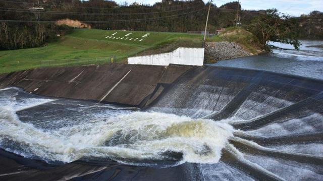 Situatie rond stuwdam op Puerto Rico na orkaan Maria blijft zorgwekkend