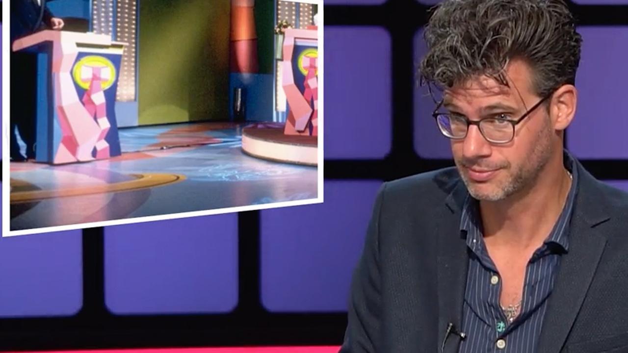 Per Seconde Wijzer-presentator Dijkstra raadt decors van spelshows