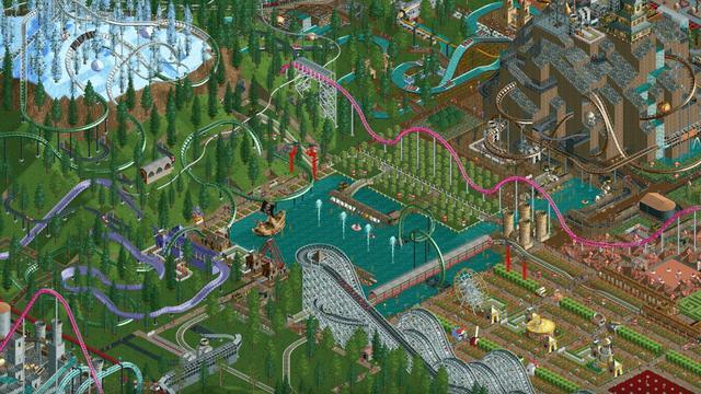 RollerCoaster Tycoon Classic beschikbaar gemaakt voor Mac en pc