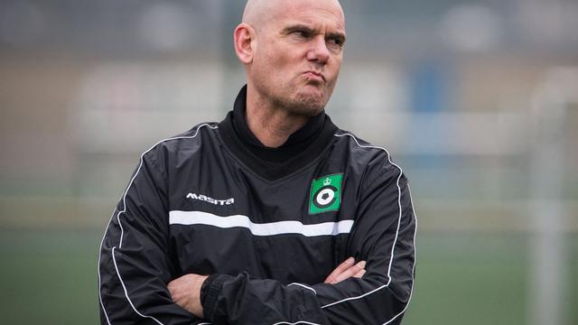 Van Wijk vertrekt deze zomer als trainer van Cercle Brugge