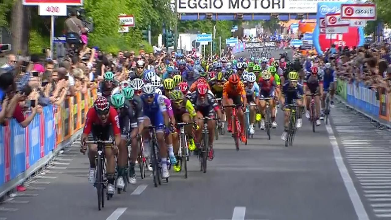 Samenvatting Giro: Gaviria pakt zijn derde ritzege in massasprint