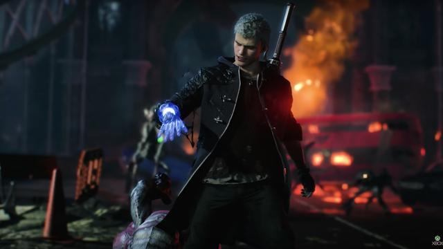 Pak demonen aan in Devil May Cry 5
