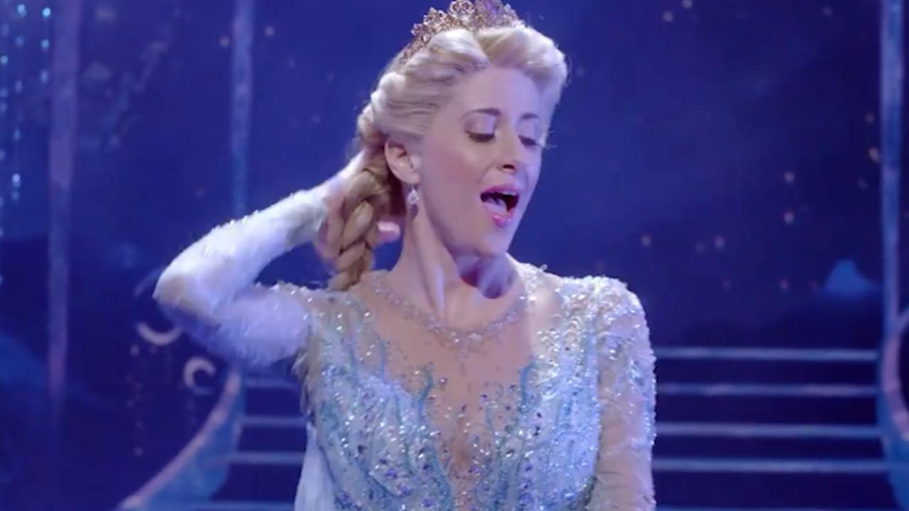 Bekijk hier de trailer van de musical Frozen