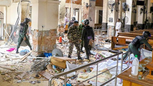 Ten minste 207 doden bij aanslagen Sri Lanka, onder wie één Nederlander