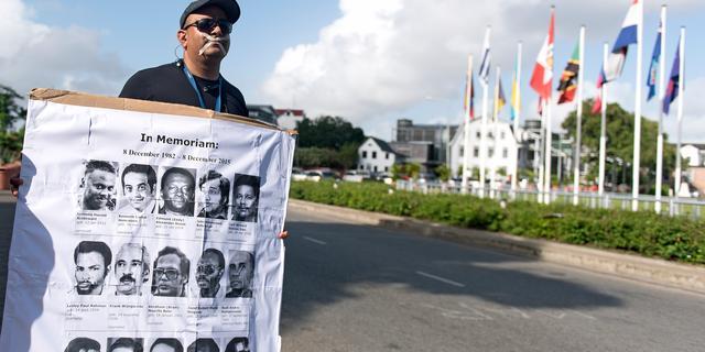Opnieuw twintig jaar cel geëist tegen Bouterse voor Decembermoorden
