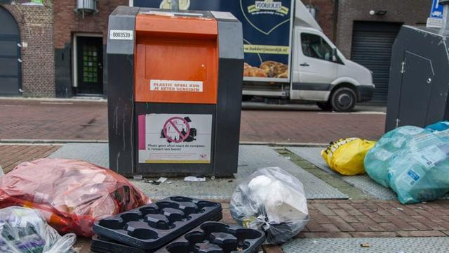 Voorlopig geen betere vuilnisvoorzieningen op de Uithof