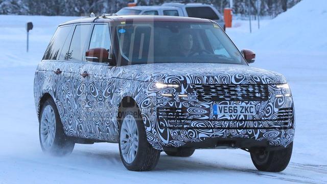 Betrapt: nieuwe Range Rover