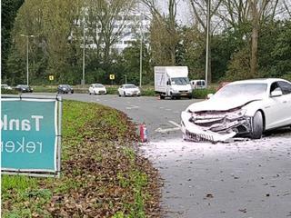 Oorzaak van ongeluk Gooiseweg nog onbekend
