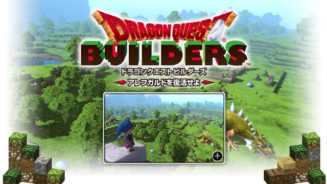 Minecraft-achtige spin-off Dragon Quest aangekondigd