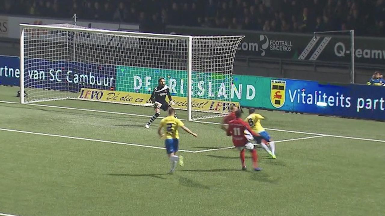 Samenvatting SC Cambuur-Helmond Sport (3-0)