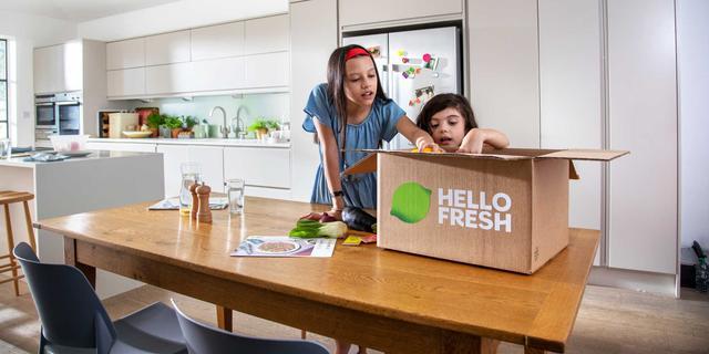 HelloFresh levert dubbel zo veel maaltijden als jaar geleden