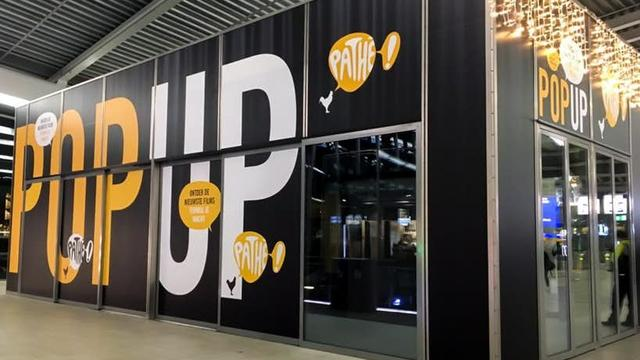 Pathé opent pop-up bioscoop op station Utrecht Centraal