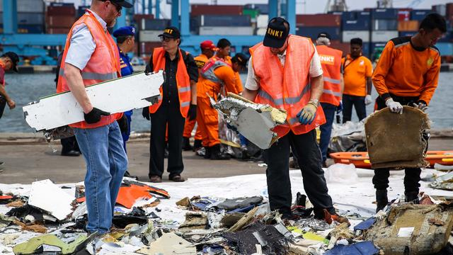 Boeing geeft uitleg over defecte sensor na crash Lion Air-toestel in Javazee