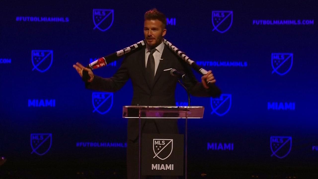 David Beckham heeft eigen MLS-team