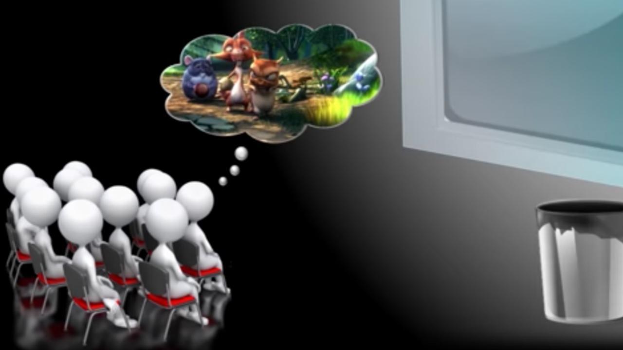 Onderzoekers maken brilloos 3d in bioscoop mogelijk