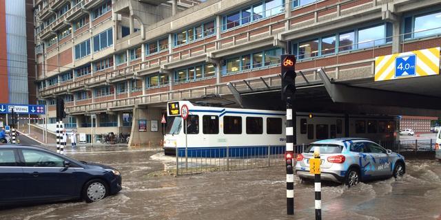 Openbaar vervoer rond VUmc rijdt weer volgens dienstregeling